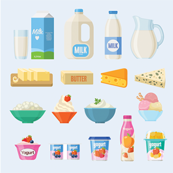 Grocery and milk delivery products